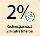 Redirectioneaza 2% catre Intercer