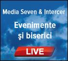 MediaSeven si Intercer va ofera informatii despre evenimente si biserici care transmit live
